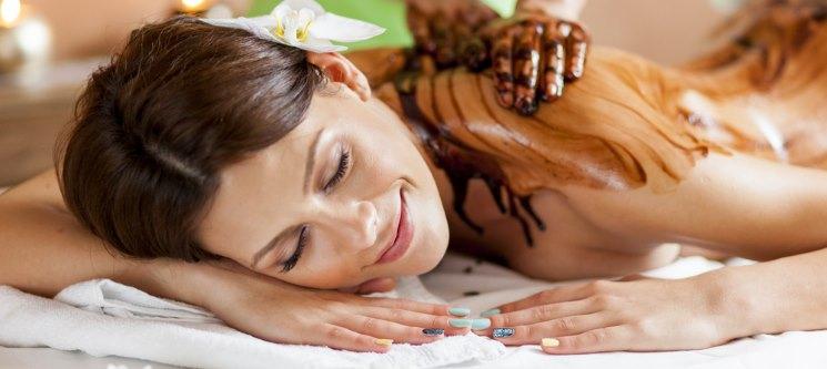 Massagem de Relaxamento com Óleo de Chocolate | Braga