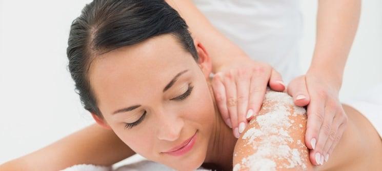 Esfoliação Sal e Óleo de Argão + Massagem Hidratante | Porto