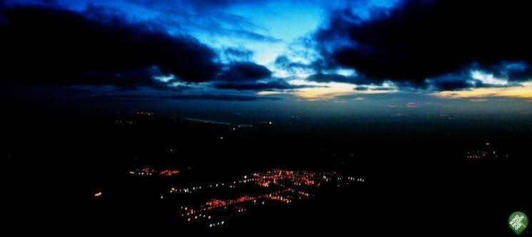 O Sonho de Voar Junto das Estrelas | Voo Nocturno de Balão para Dois
