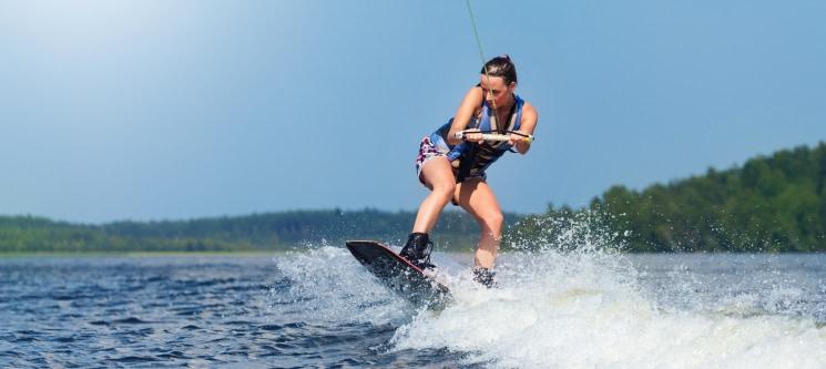Wakeboard ou Ski Aquático no Alqueva para 2
