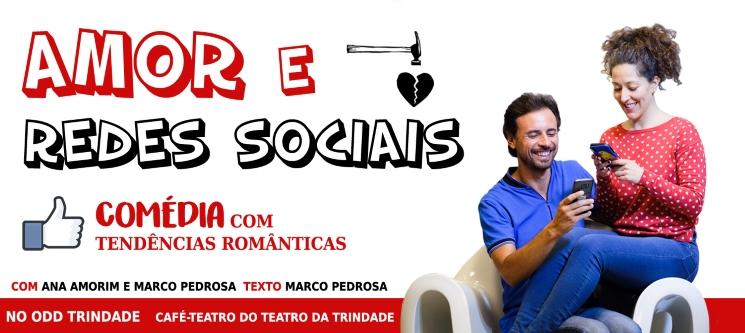 Espectáculo «Amor e Redes Sociais» | Odd Trindade | Lisboa