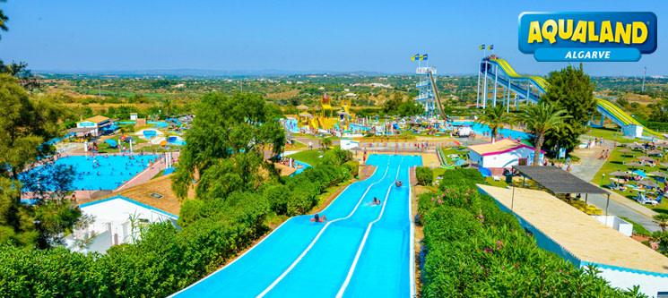 Aqualand Algarve | Entrada de Adulto ou Criança | Diversão Aquática em Família!
