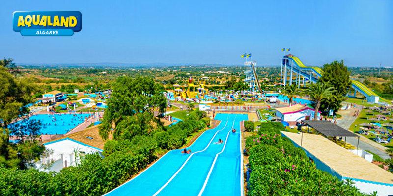 Aqualand Algarve | Entrada de Criança, Adulto, Família ou Amigos | Diversão Aquática no Verão!