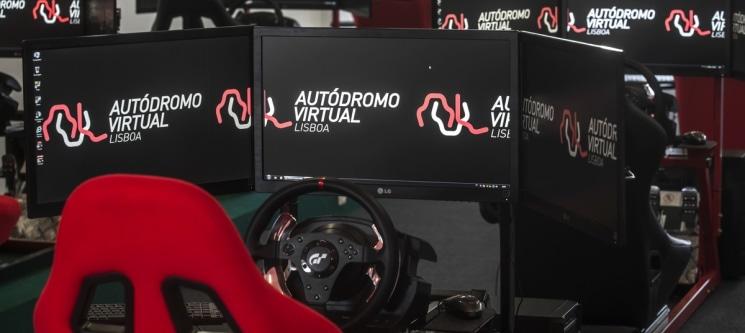 Acelere a Fundo no Autódromo Virtual de Lisboa | 1 ou 2h de Adrenalina ao Máximo