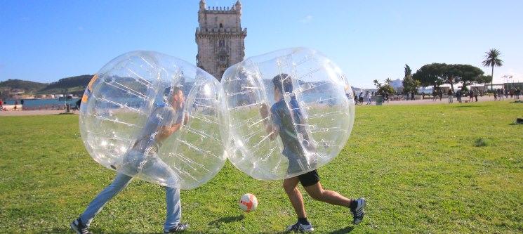 Bubble Football entre Amigos! 10 a 20 Pessoas | Lisboa e Porto