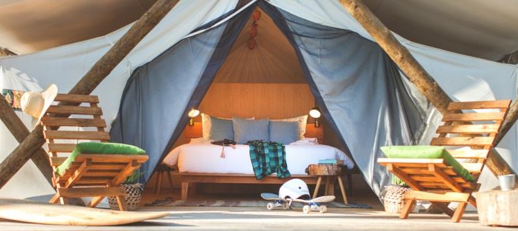 Bukubaki EcoSurf Resort - Peniche | Estadia em Tenda de Luxo com Opção Jantar
