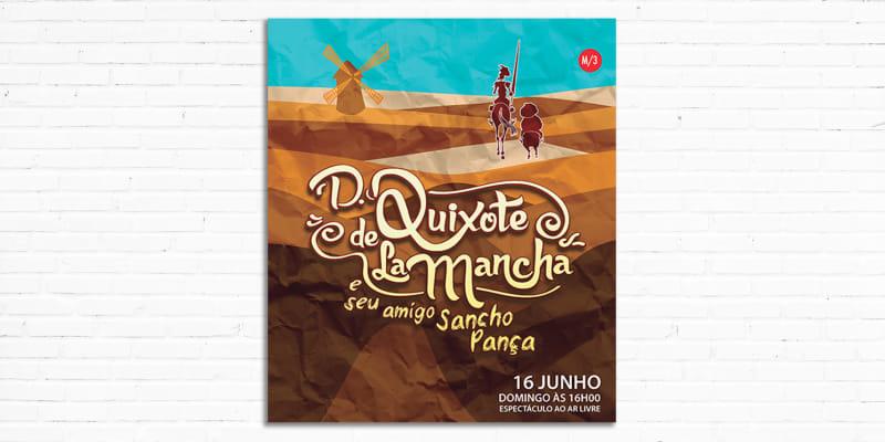 Peça de Teatro «D. Quixote de La Mancha e Seu Amigo Sancho Pança» | Lisboa