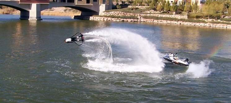 Adrenalina ao Máximo num Flyjet! Voos na Água em Marco de Canaveses