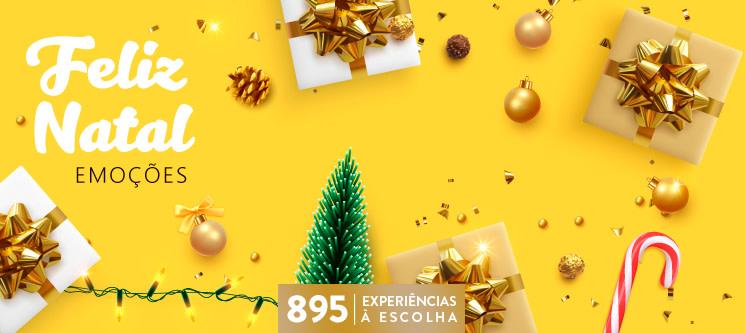Feliz Natal - Emoções | 895 Experiências à Escolha