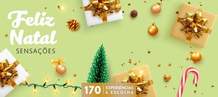 Feliz Natal - Sensações | 170 Experiências à Escolha