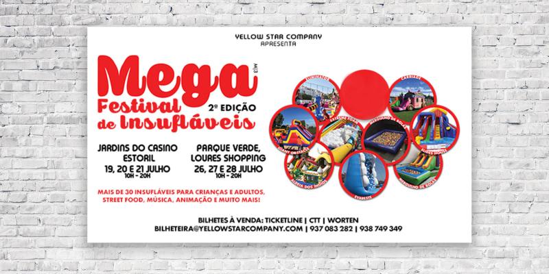 Mega Festival de Insufláveis - Jardins do Estoril e Jardins do Loures Shopping