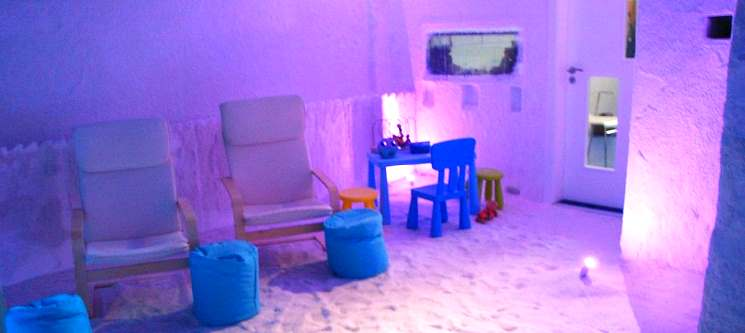Sessão de Haloterapia | Gruta de Sal no Centro de Lisboa | Halosense