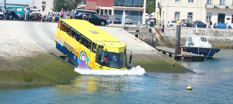 HIPPOtrip - Por Terra e Água! Lisboa com um Splash! Bilhete de Adulto