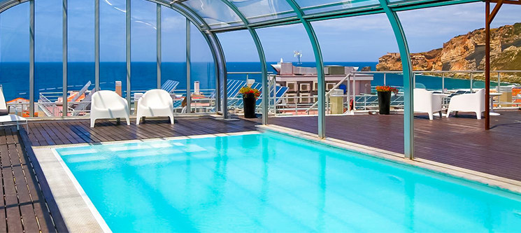 Hotel Praia 4* - Nazaré | 1 a 7 Noites & Piscina com Vista Panorâmica