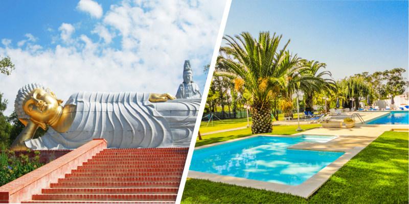 Hotel Rural A Coutada - Peniche | Estadia Romântica com Opção Visita ao Jardim Buddha Eden
