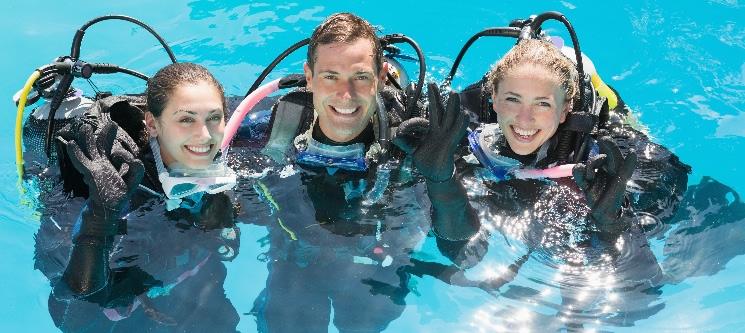 Baptismo de Mergulho em Piscina | 2 Pessoas | JustDive - Peniche