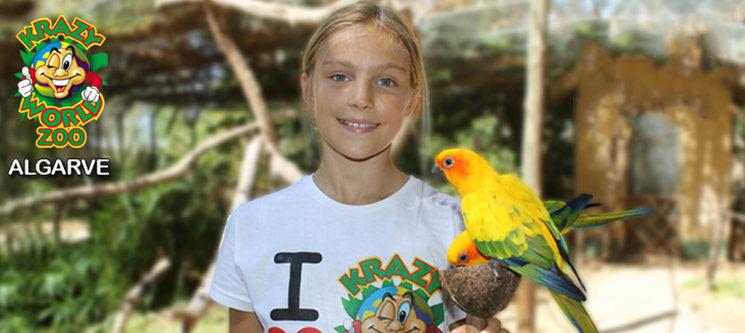 Krazy World Zoo - Algarve | Dia de Diversão Máxima na Natureza - Criança e/ou Adulto