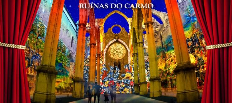 Lisbon Under Stars - Espectáculo Imersivo | Ruínas do Carmo - Lisboa