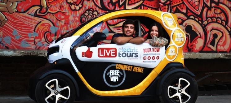 Tour de Twizy para Dois   1 Hora   Live Electric Tours