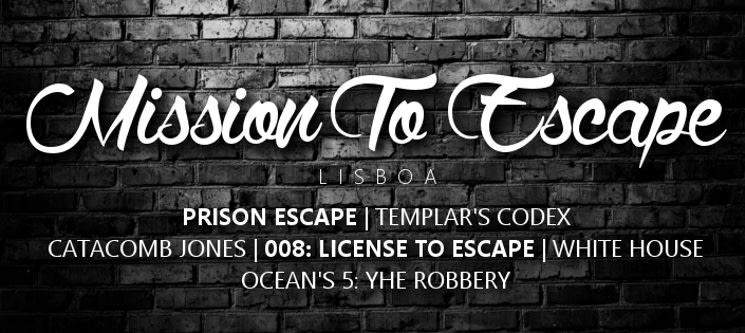 Mission to Escape - 6 Escape Rooms | 2 a 5 Pessoas