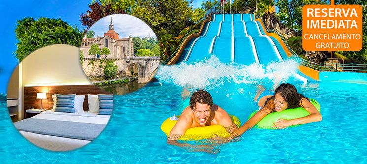 Hotel Navarras - Amarante | Férias em Família & Opção de Entradas em Parque Aquático