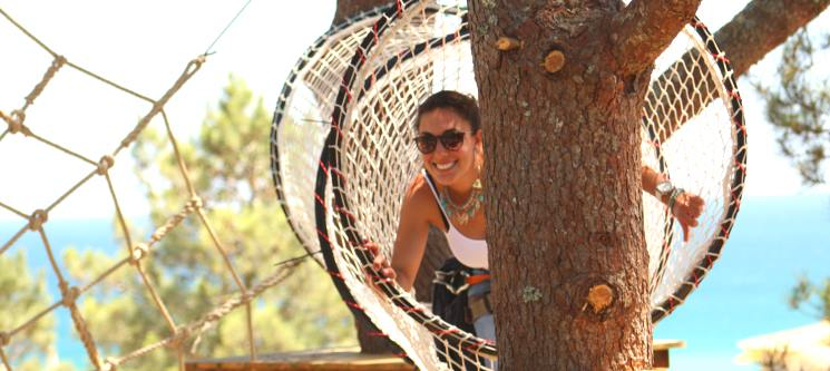 Arborismo no Algarve para 1 ou 2 Pessoas | Parque Aventura - 3 Locais