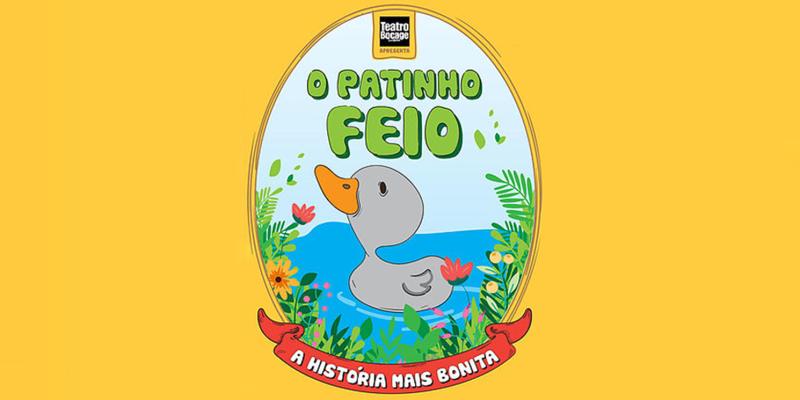 «O Patinho Feio – A História Mais Bonita» | Peça Infantil no Teatro Bocage