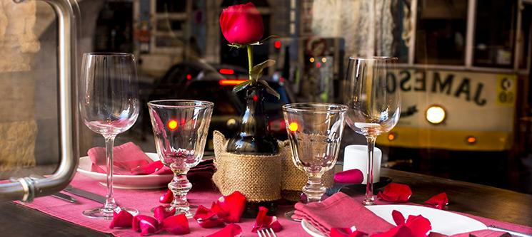 Feliz Dia dos Namorados! Jantar Apaixonante com Fado no D. Afonso o Gordo | Baixa de Lisboa