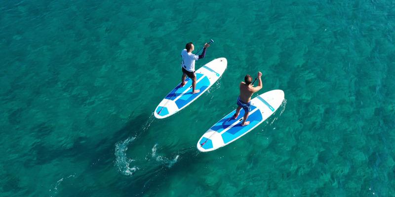 Stand Up Paddle pela Praia da Luz! 1 ou 2 Pessoas   Beach Hut Watersports - Lagos