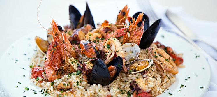Arroz de Lavagante para Dois | Portofino Restaurante & Bar - Sesimbra