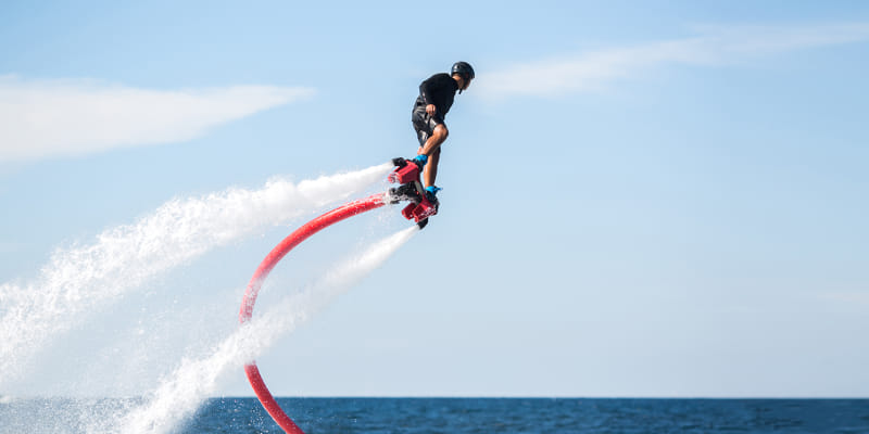 Flyboard | 15 Minutos a Voar sobre as Águas do Algarve! Moments Watersports