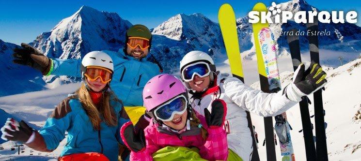 Skiparque - Serra da Estrela | 2 Noites em Família + Ski ou Snowboard