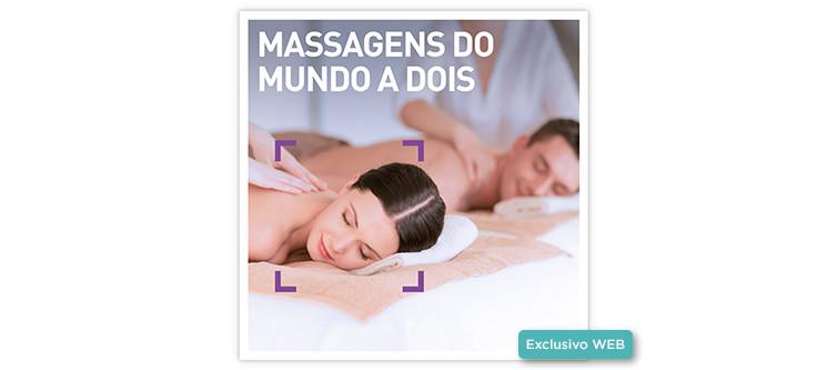 Massagens do Mundo a Dois | 50 Locais à escolha