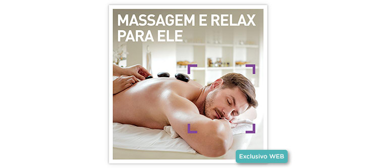 Massagem & Relax para Ele | 70 Locais à escolha