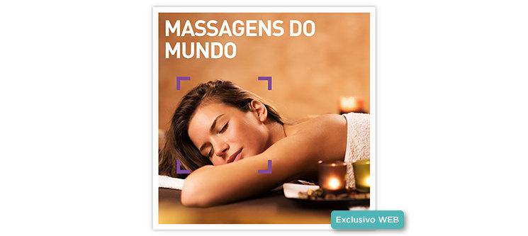 Massagens do Mundo | 70 Locais à escolha