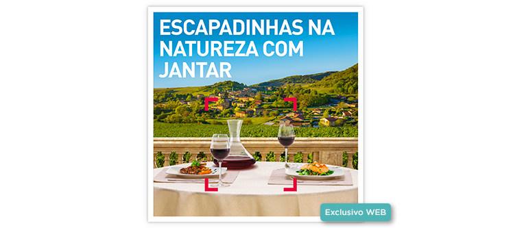 Escapadinhas na Natureza com Jantar | 25 Estadias à escolha
