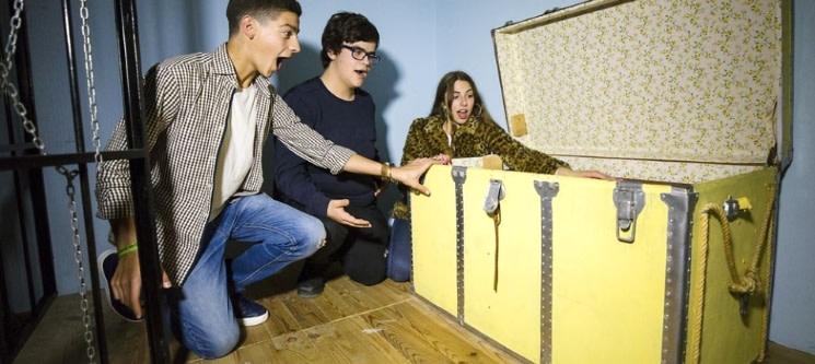 Fantástico Escape Room em Aveiro até 5 Pessoas | Solve and Escape