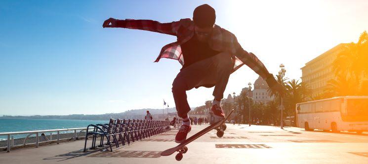 Aula de Iniciação ao Skate-Surf ou Skate-Longboard | 1h15 para 1 ou 2 Pessoas | Matosinhos