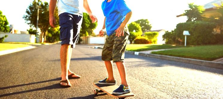 Aula de Iniciação de Skate For Kids - 1h15 | 1 ou 2 Pessoas | Matosinhos