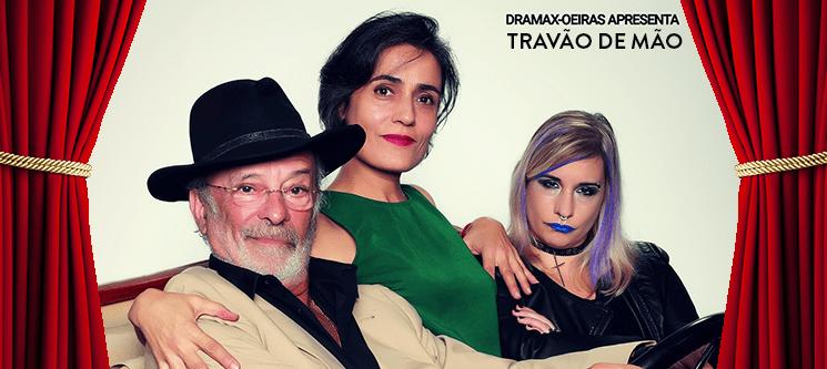 «Travão de Mão» com Vitor Espadinha - Bilhete Duplo | Auditório Municipal Eunice Muñoz - Oeiras