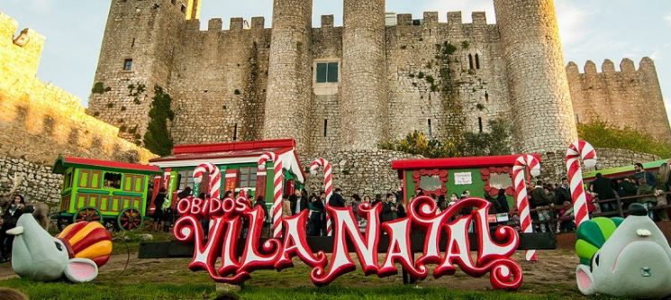 Óbidos Vila Natal! Caldas Internacional Hotel | 1 ou 2 Noites c/ Opção Meia-Pensão & Entradas
