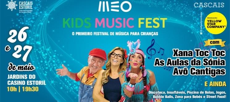 MEO Kids Music Fest - 1º Festival de Música para Crianças | 26 e 27 Maio | Jardins do Casino Estoril