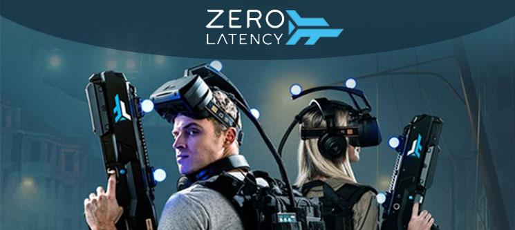 ZERO LATENCY | Experiência de Realidade Virtual 30 Minutos para 2, 4, 6 ou 8 Pessoas