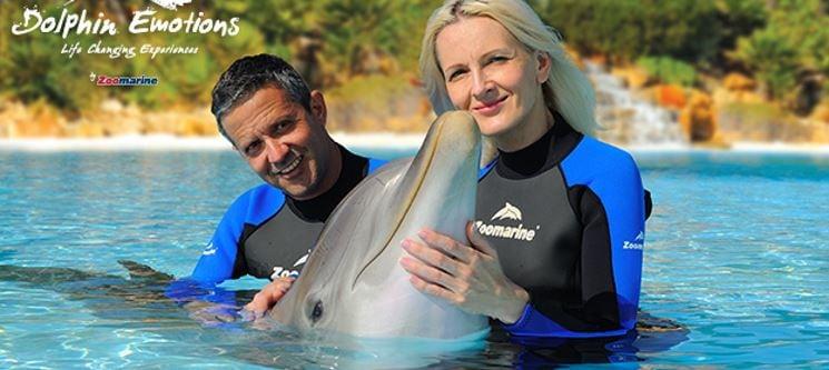 Dolphin Emotions para Dois | Visita + Interacção com Golfinhos no Zoomarine - Um Presente Inesquecível!