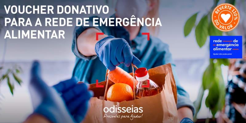 Presentes para Ajudar! Voucher Donativo para a Rede de Emergência Alimentar do Banco Alimentar Contra a Fome