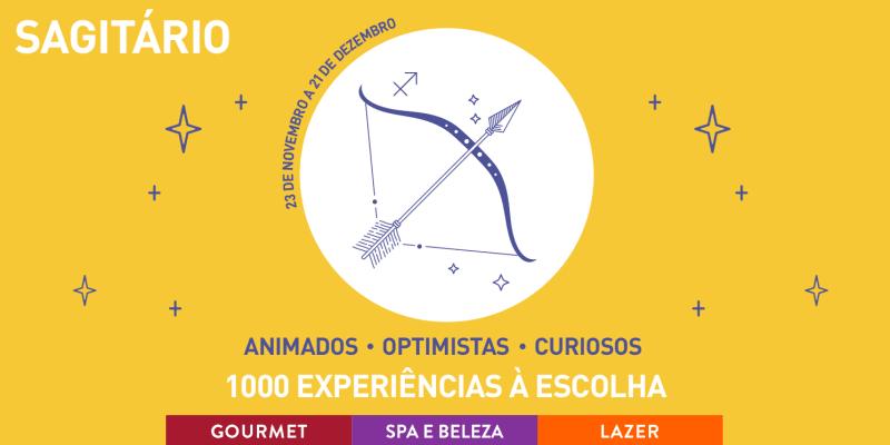 Especial Zodíaco: Sagitário   1000 Experiências