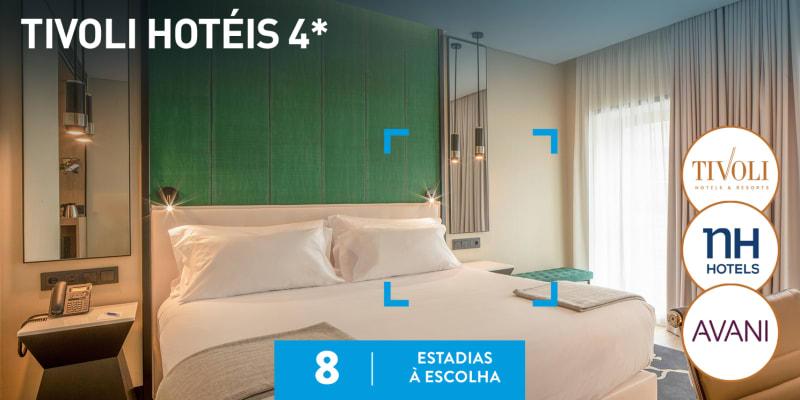 Tivoli Hotéis 4*   8 Estadias à Escolha