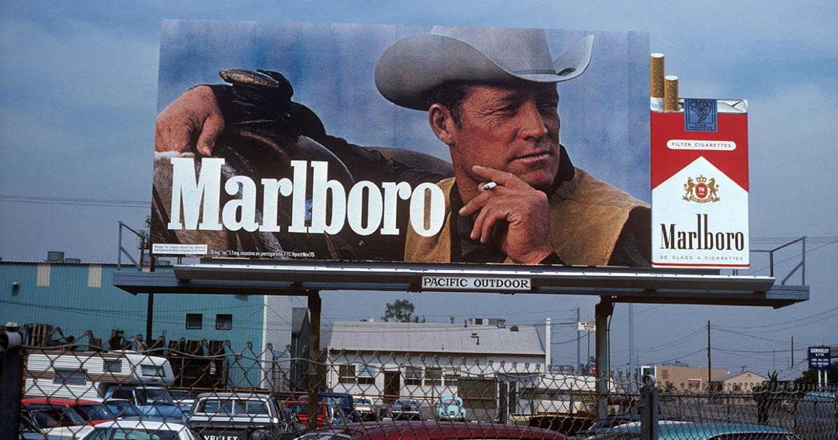 Tabac: quand la pub mettait le paquet !
