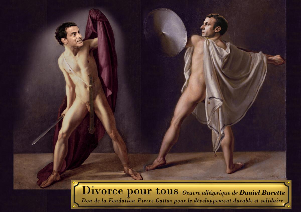 Valls ou Macron : mais qui est le plus à droite ?
