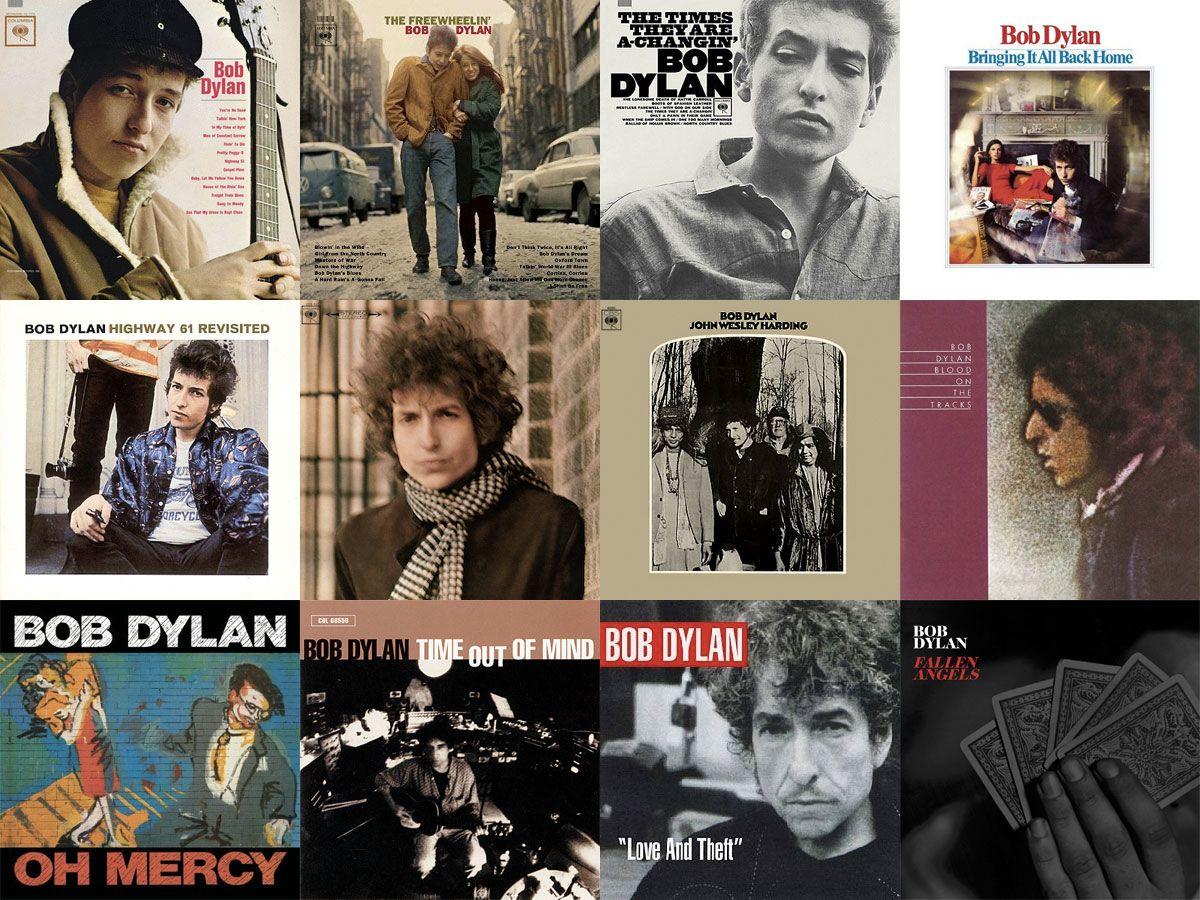 7 listes de 7 chefs d'oeuvres de Bob Dylan